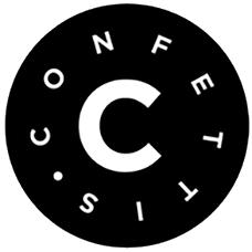 les confettis logo