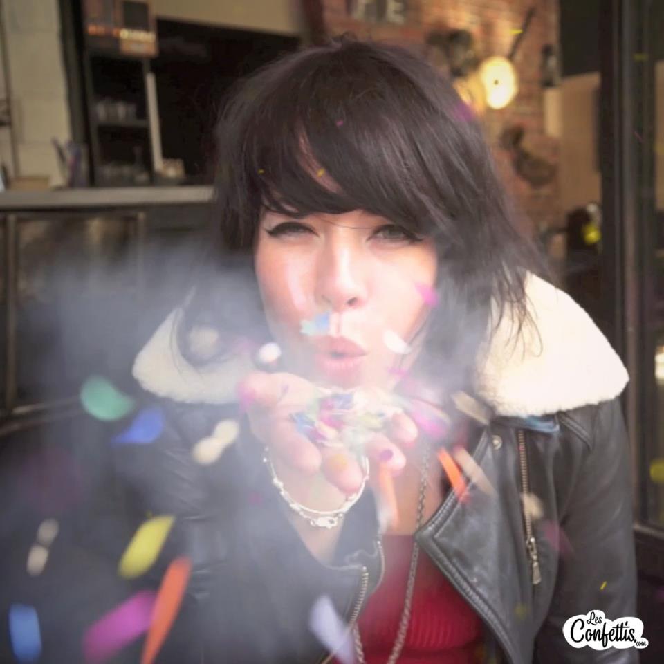 alex hepburn - les confettis