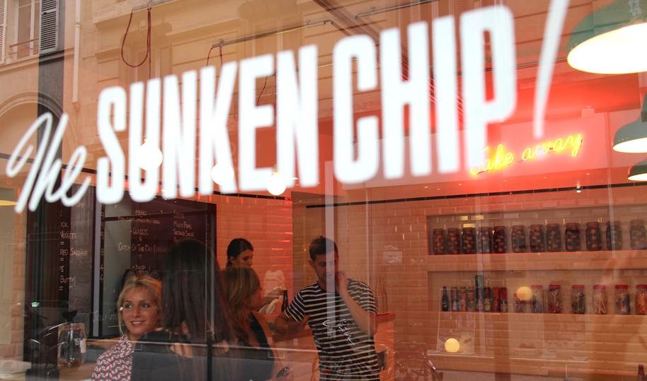 sunken chip