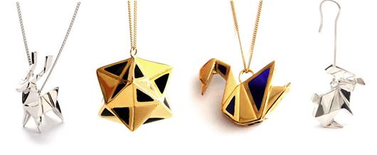 Hervorragend Origami Jewellery : Pliages précieux OM95