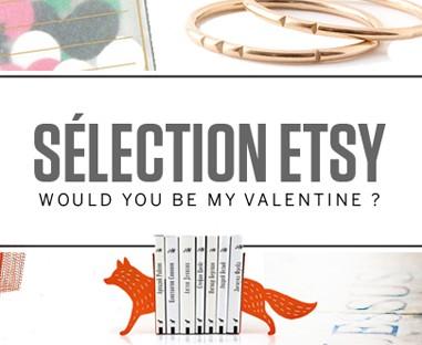 Sélection cadeau Saint Valentin chez Etsy