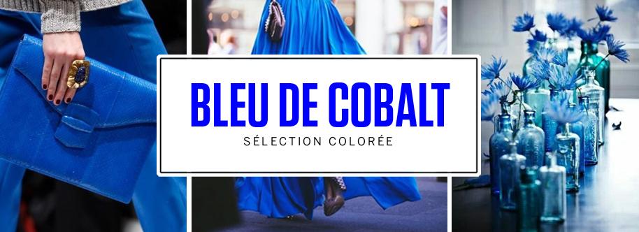 selection colorée bleu cobalt