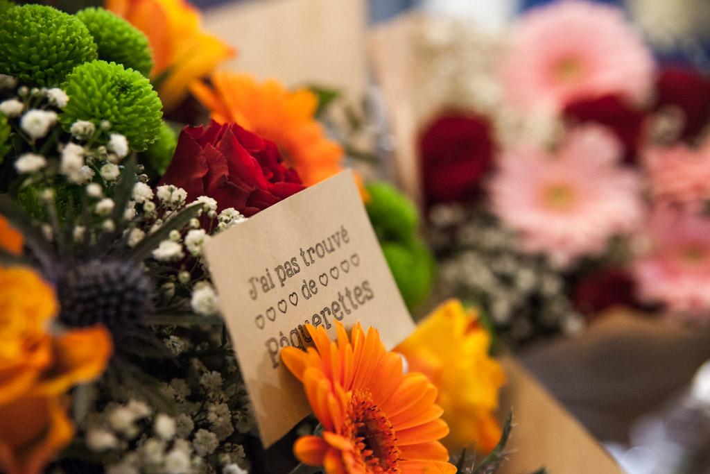 Le bouquet gagnant