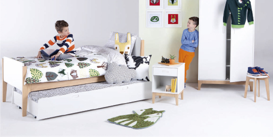 les enfants ont aussi droit au design avec made com. Black Bedroom Furniture Sets. Home Design Ideas