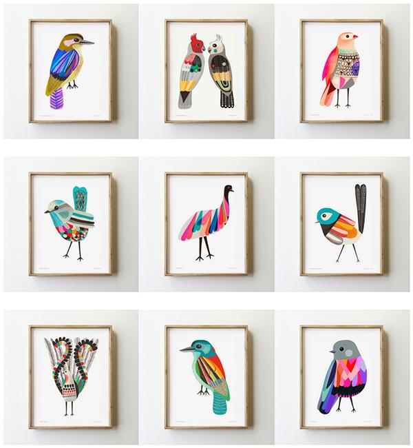inaluxe birds