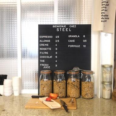 Steel Coffee Shop, du mag au coffee shop