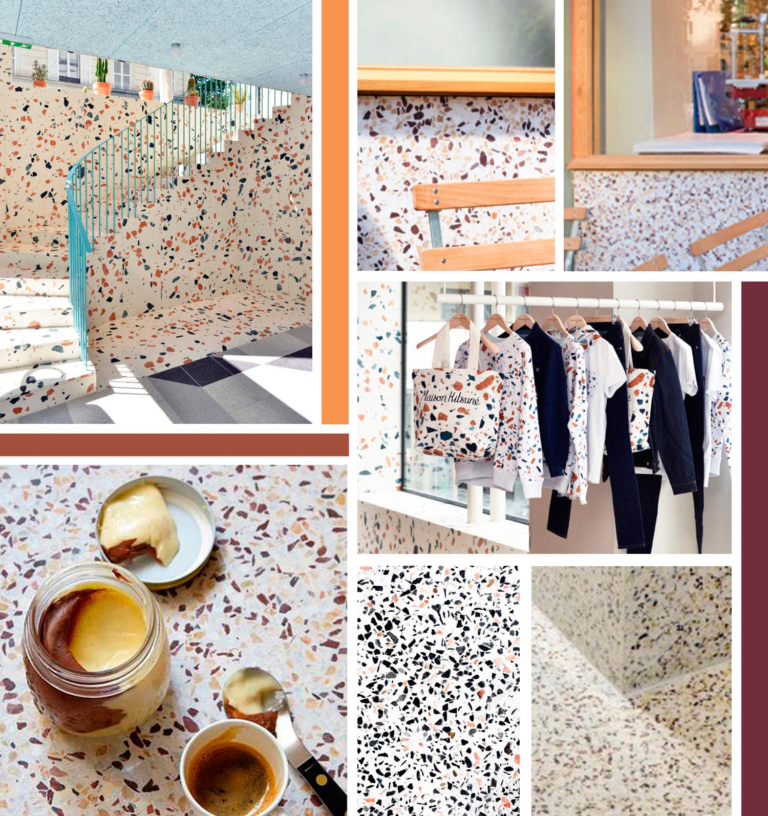 carrelage terrazzo le marbre ou les carreaux de ciment de votre cuisine ou votre salle de. Black Bedroom Furniture Sets. Home Design Ideas