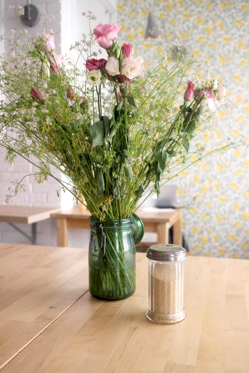 maison bastille bouquet de fleur