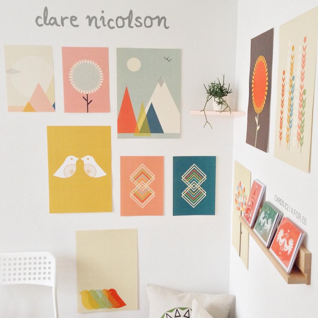 Clare Nicolson collages