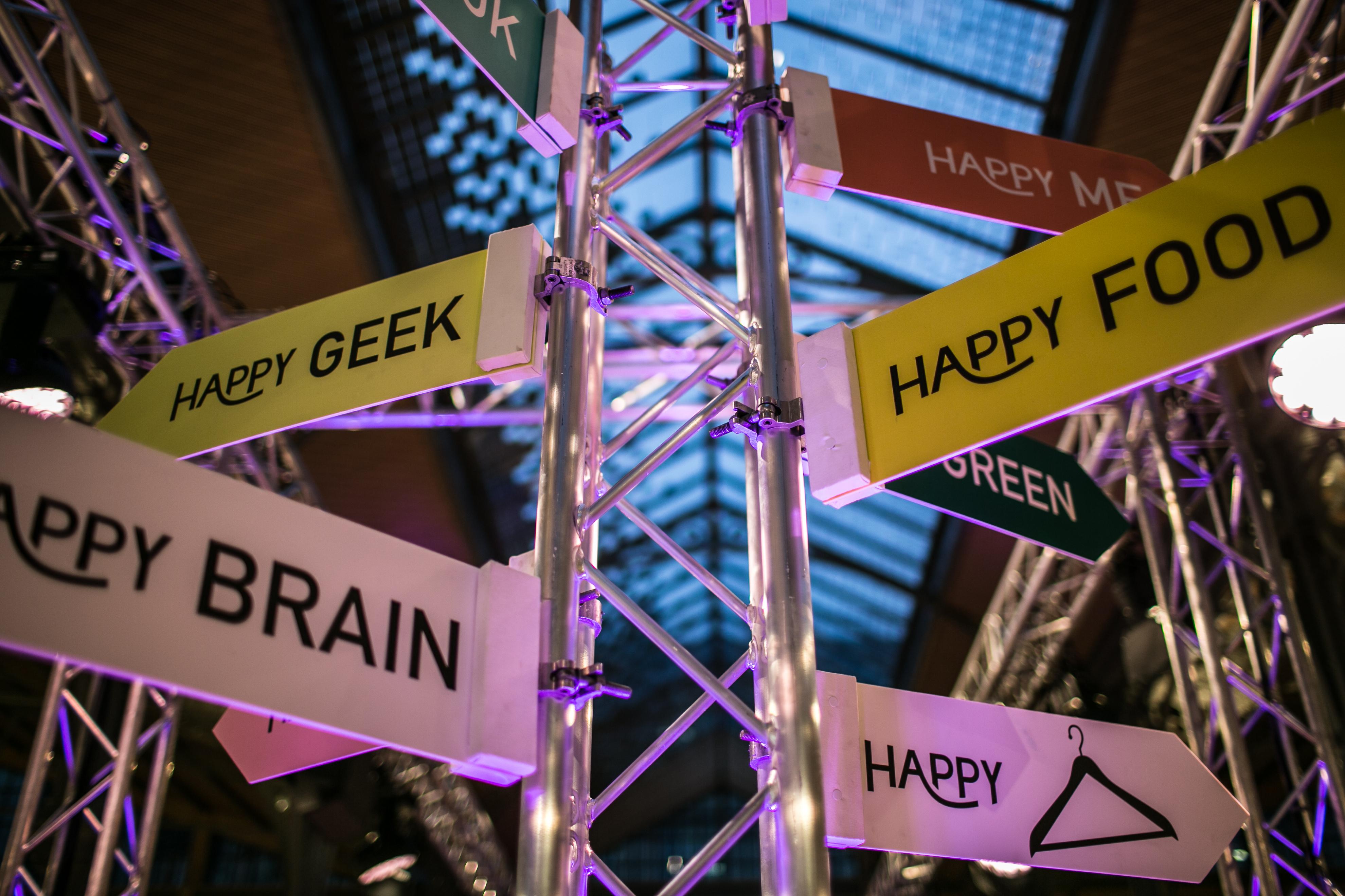 Le Happy Happening revient le 14 et 15 novembre au Carreau du Temple ! Cet événement promeut l'entrepreneuriat féminin et la poursuite de ses rêves !