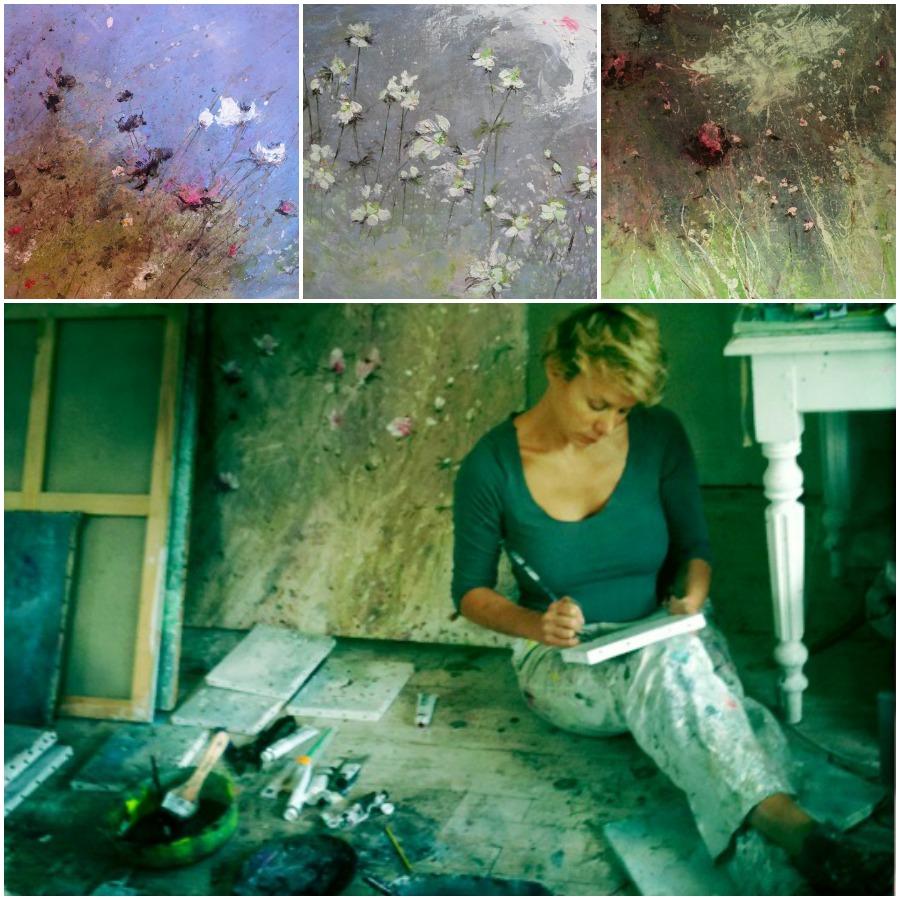 Laurence Amélie peinture