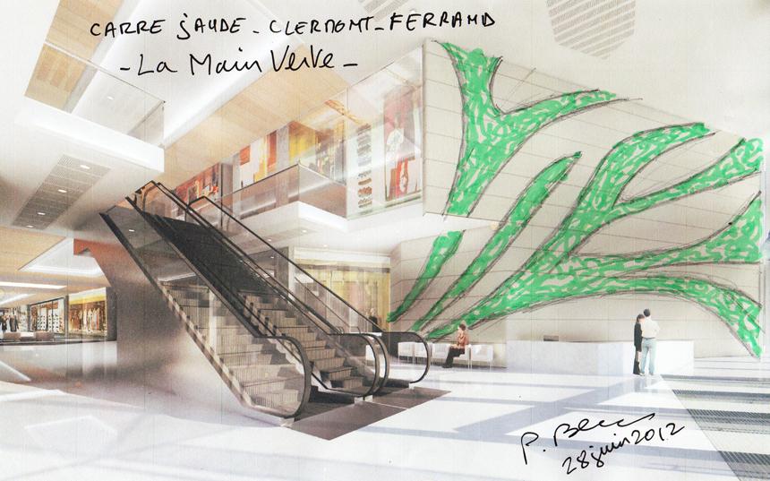 carrejaudeclermontferrand mur vegetal