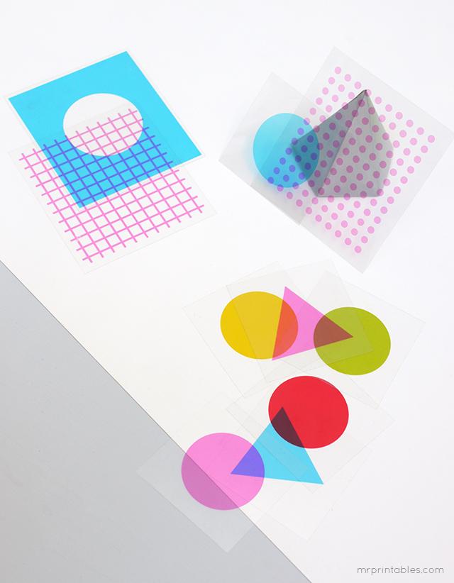 mr printables apprendre couleurs formes
