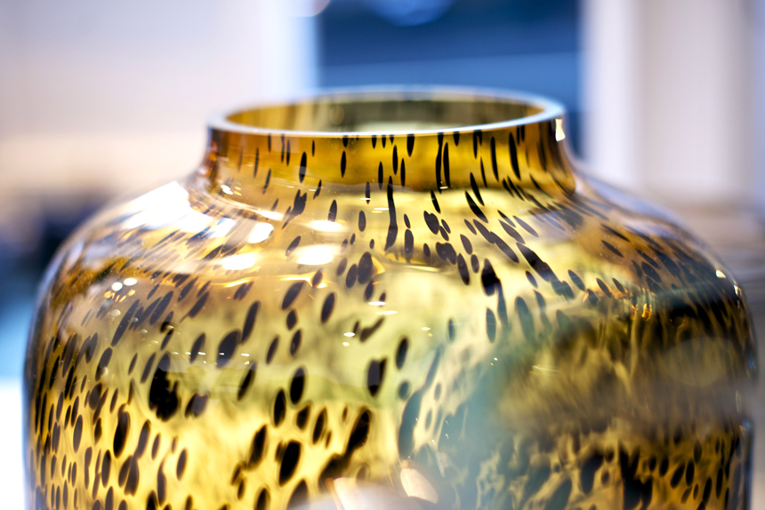 poetic in rock vase