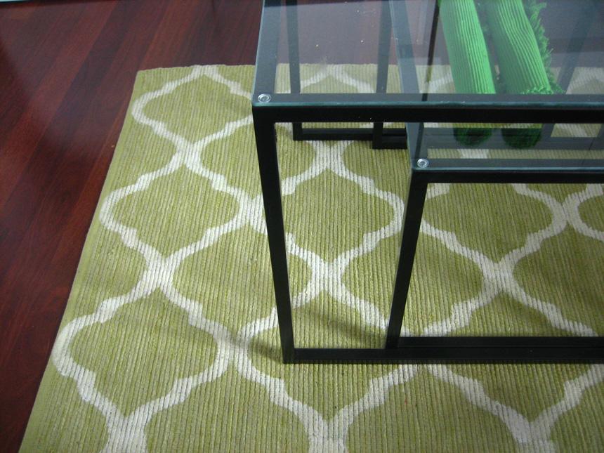 réinventer ikea tapis