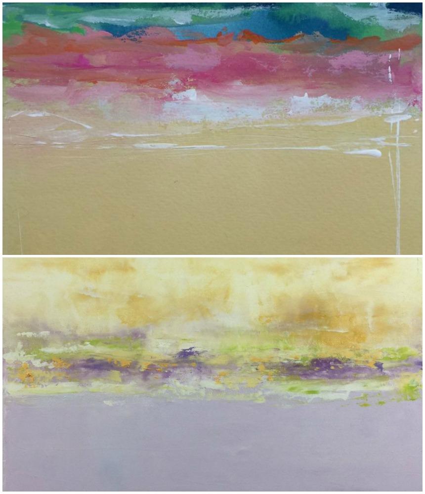 tracey kafka peintre art abstrait