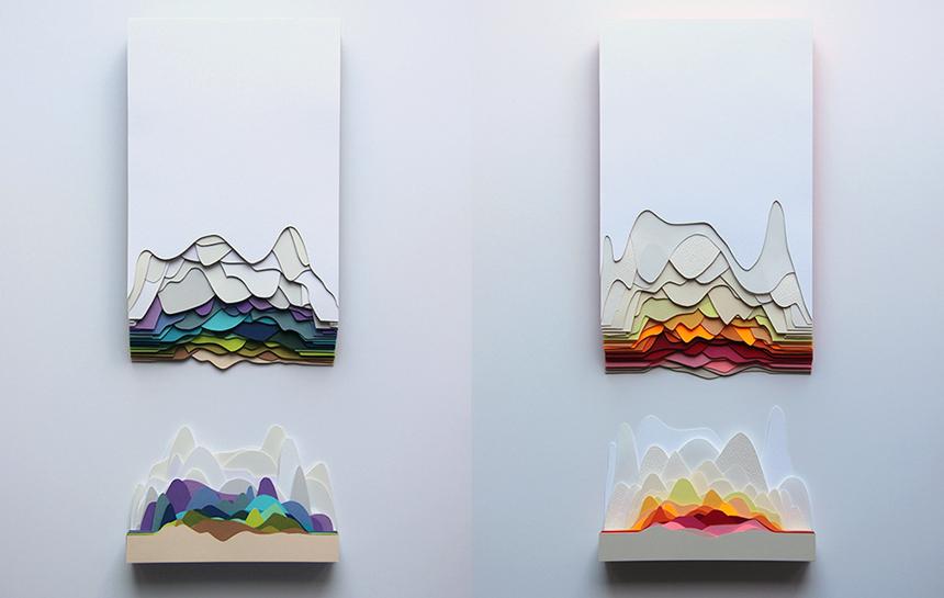 Maud Vantours, papier relief >> www.lesconfettis.com/maud-vantours