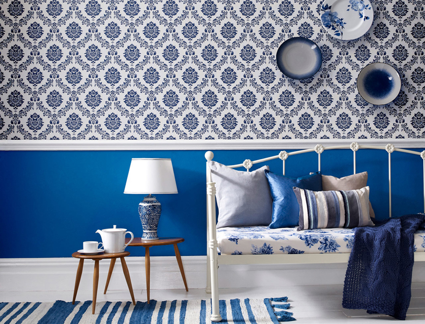 bleu indigo une couleur ancestrale les confettis. Black Bedroom Furniture Sets. Home Design Ideas