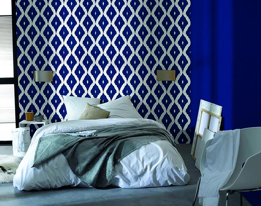 bleu indigo une couleur ancestrale les confettis. Black Bedroom Furniture Sets. Home Design Ideas