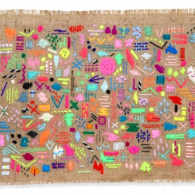 Elizabeth-Pawle-Scatterings-Six-embroidered-wall-hanging-Inky-Collective-Blog