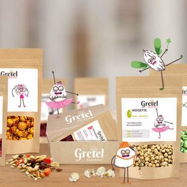 Gretel, la box du grignotage healthy