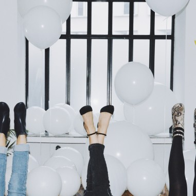 Passion chaussures et ballons !