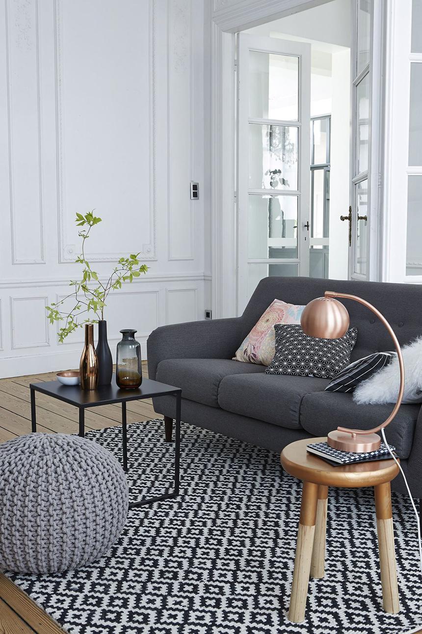 le gris tendance et intemporel. Black Bedroom Furniture Sets. Home Design Ideas