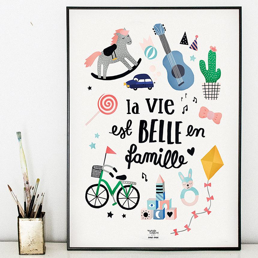 affiche-famille-Michelle-Carlslund