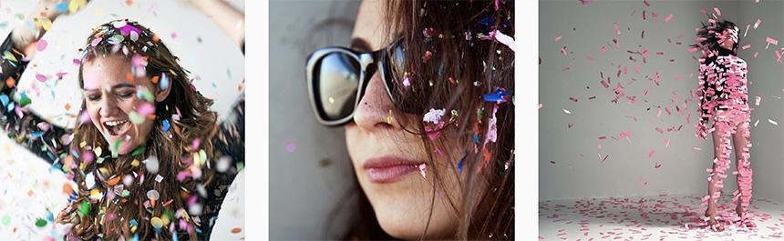 confettis-photos-project-happy-concept