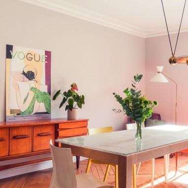 Un 180 m2 entre classicisme et années 50