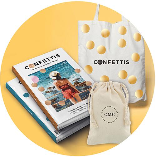 revue papier les confettis