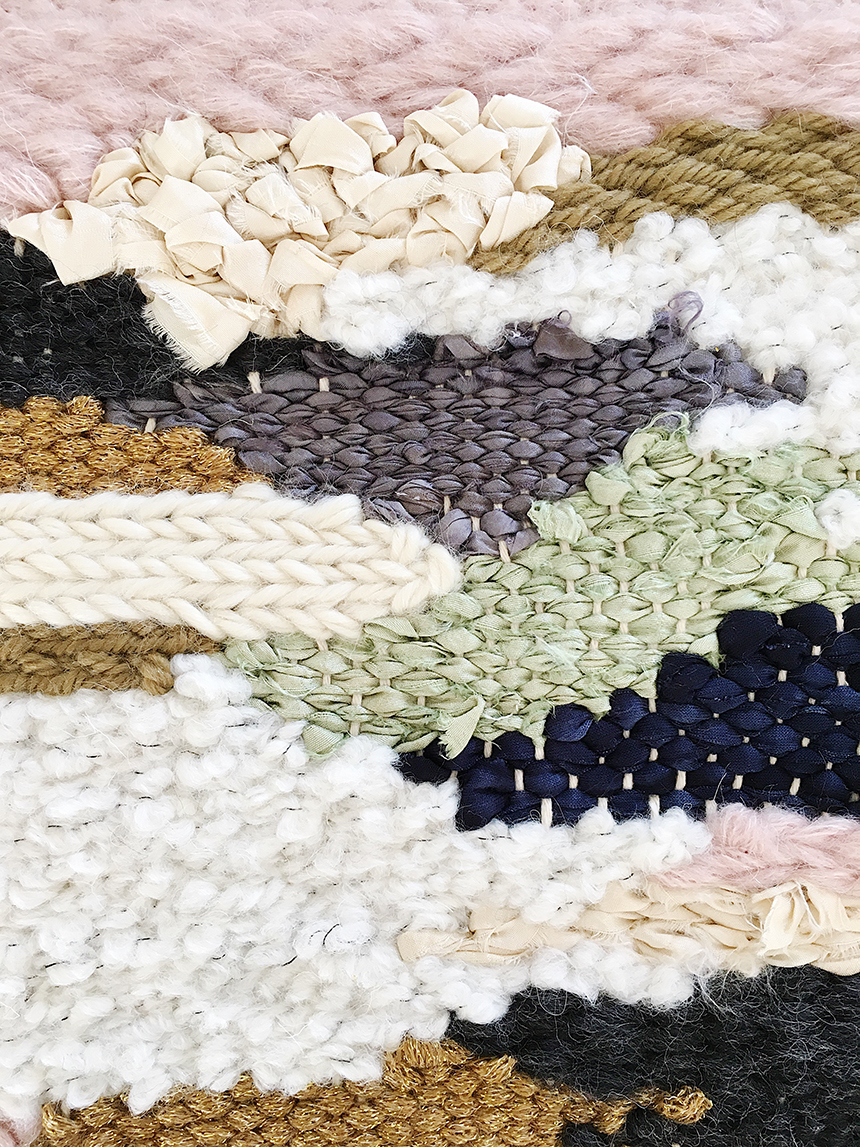 weaving matières