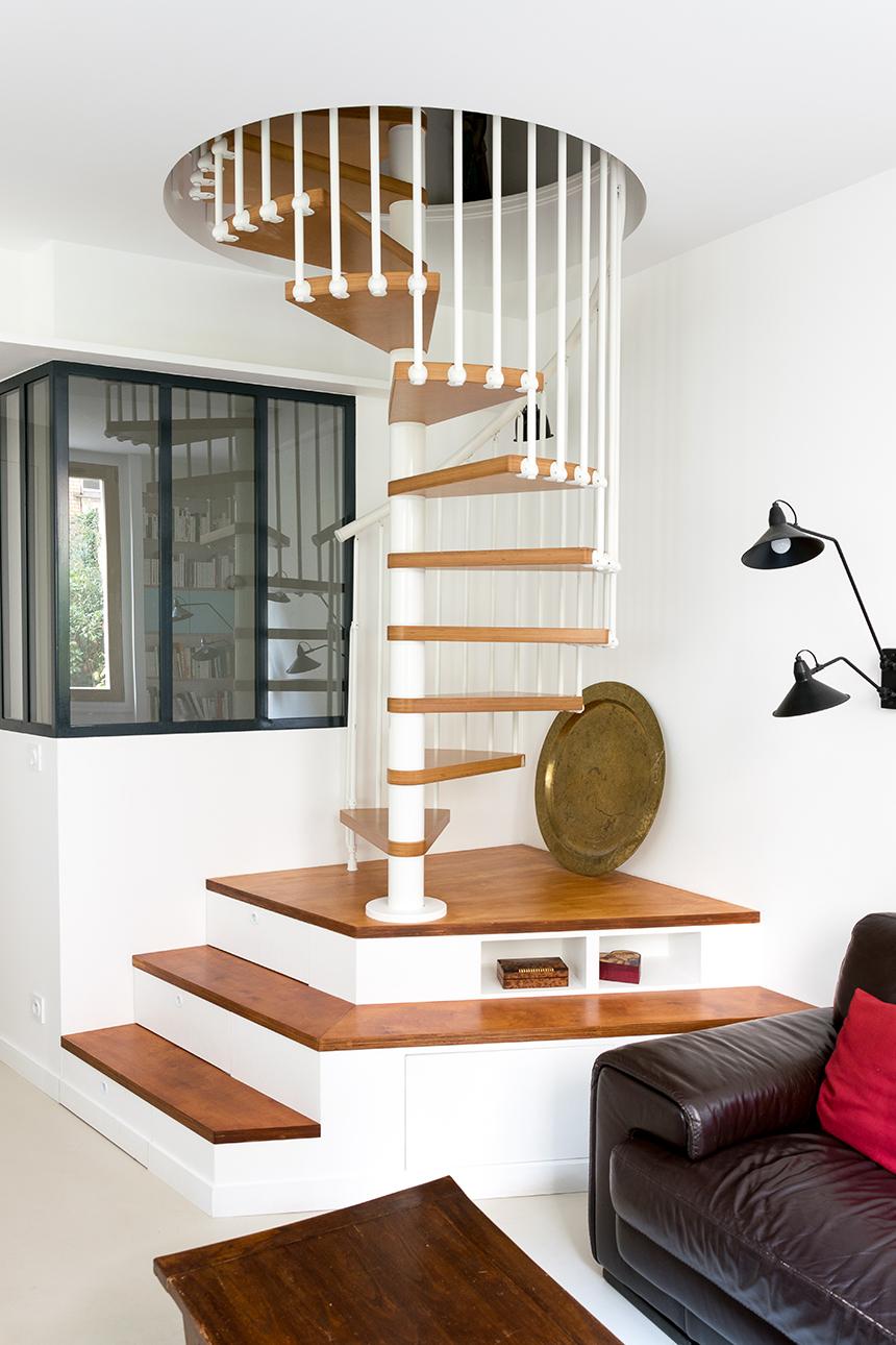 espace escalier