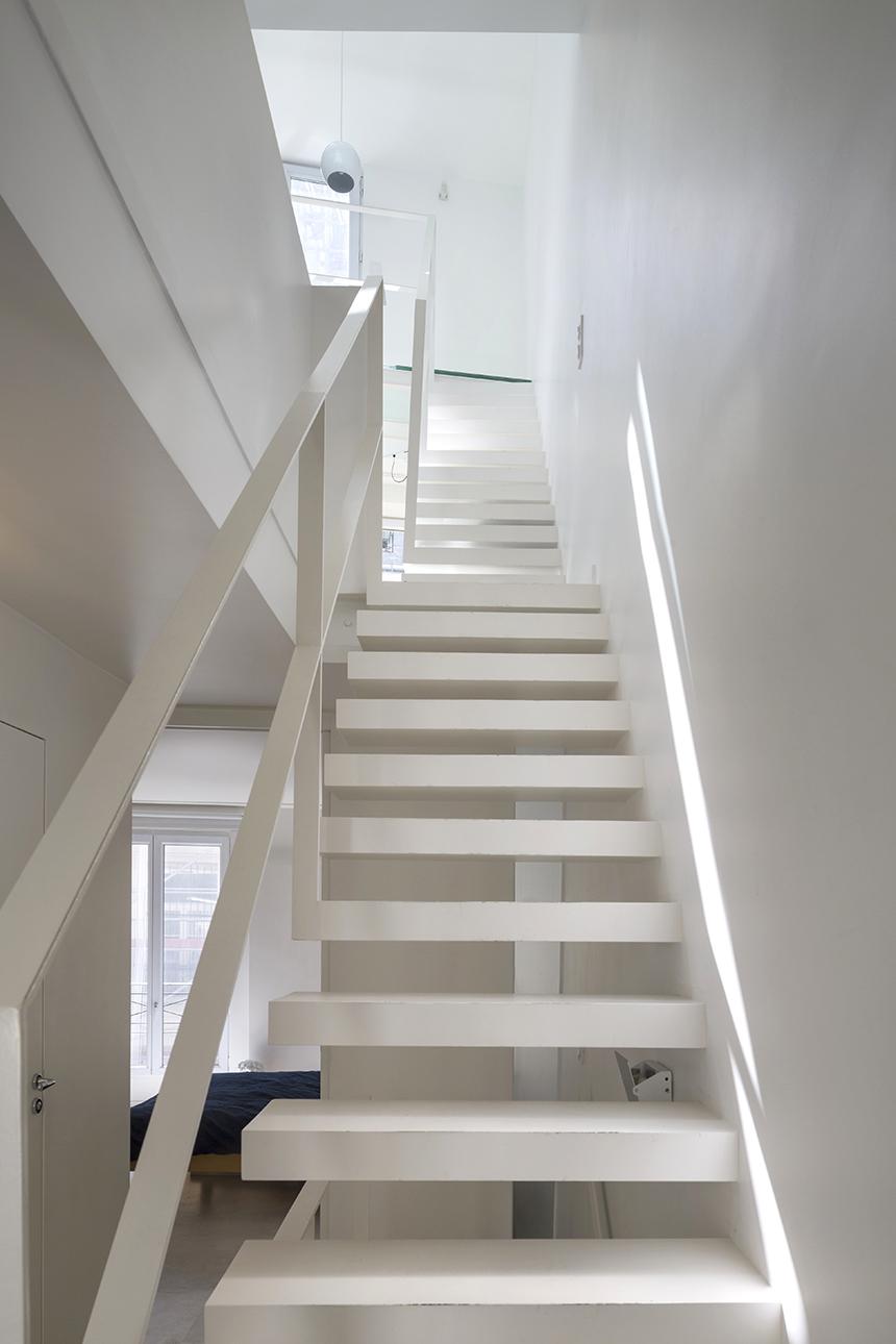 escalier triplex