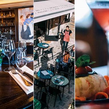 Les 5 restaurants coup de coeur de 2017