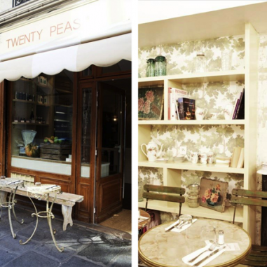 Twenty Peas, la table parisienne a l'esprit british