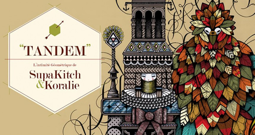 SupaKitch & Koralie, exposition «Tandem»