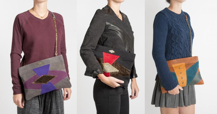 MOHEKANN, les sacs d'inspirations ethniques aux formes géométriques colorées