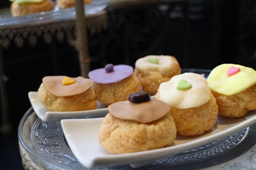 Pause gourmande chez Odette, la tradition du choux à la crème