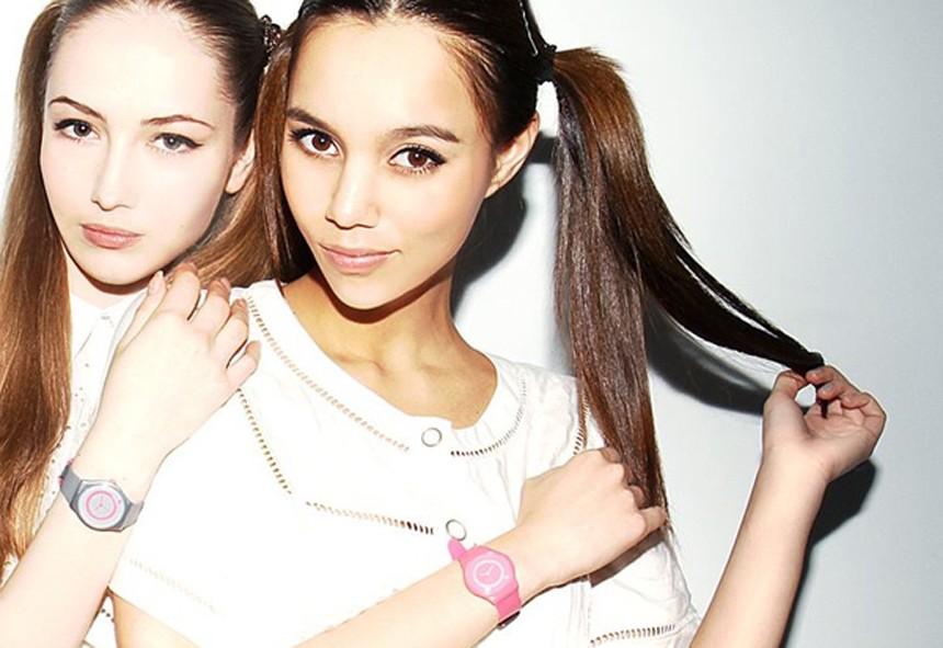 Les montres colorées Totonoï Mashita