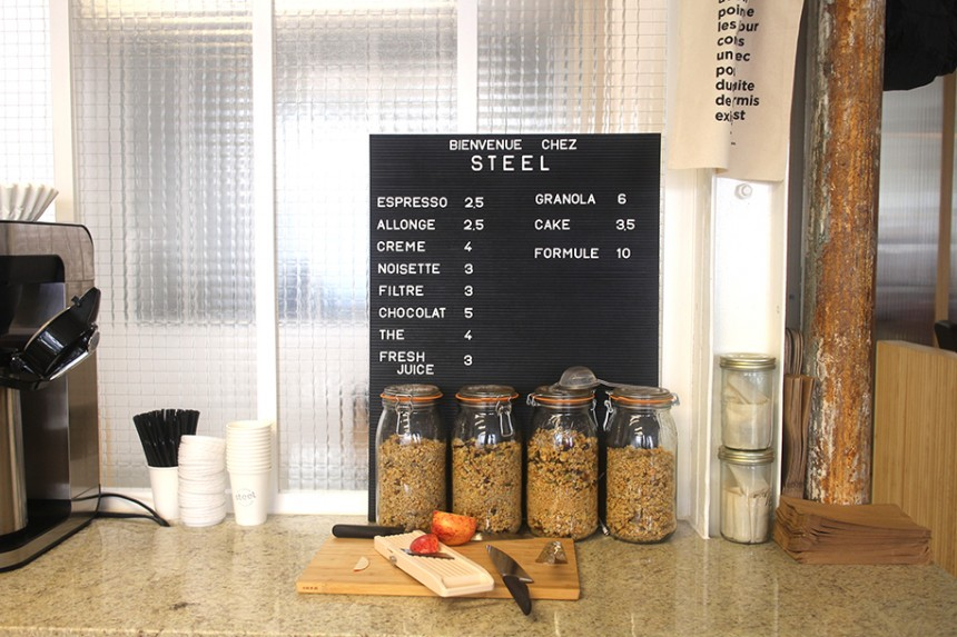 Steel Coffee Shop, du mag au coffee shop