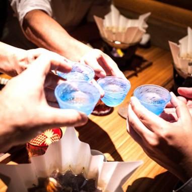 Une dégustation de Saké