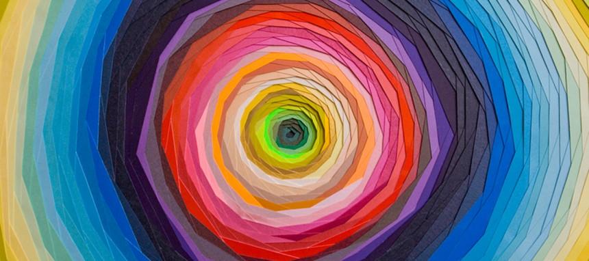 Maud Vantours, créations de papier hypnotisantes