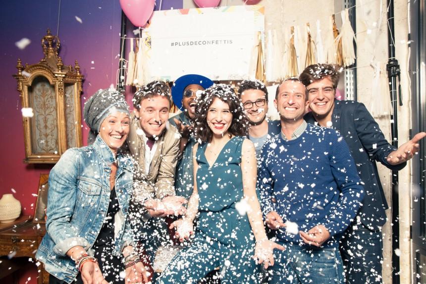 Les Confettis ont fait la fête !