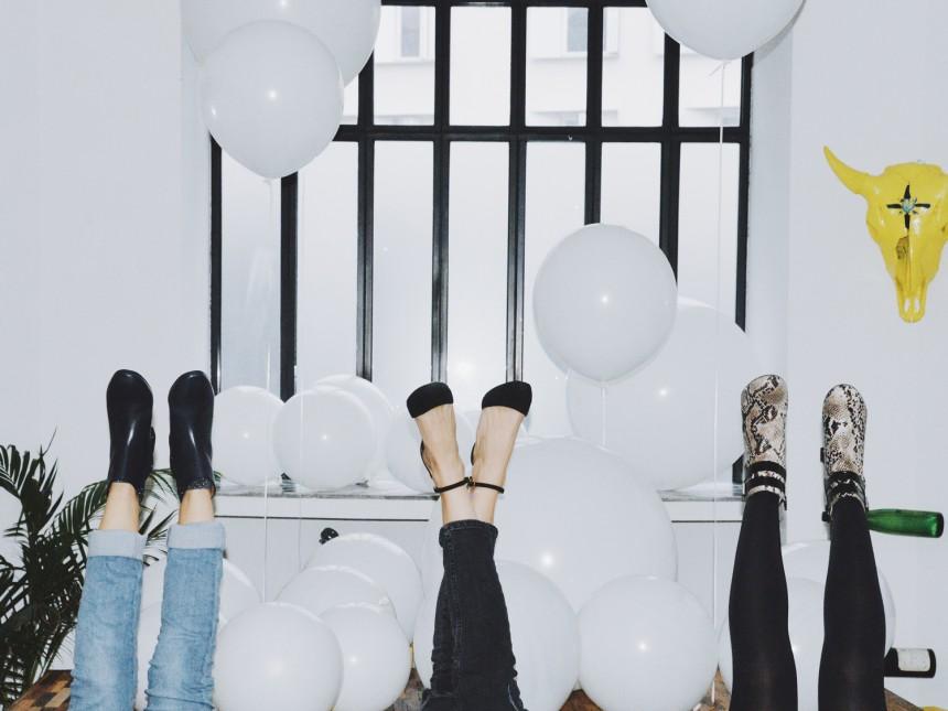 Passion chaussures et ballons !