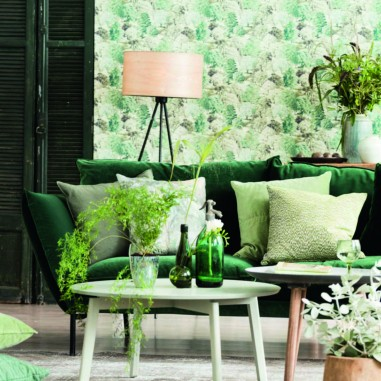 La tendance sera au vert greenery
