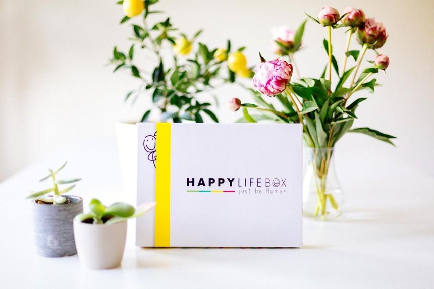 Happy Life Box :<br> l'art d'être heureux