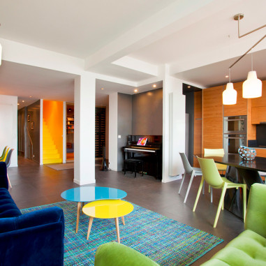 Le loft du bonheur par Denise Omer Design