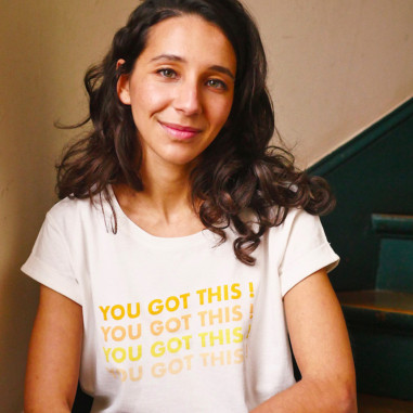 Siham Jibril, créatrice du podcast Génération XX