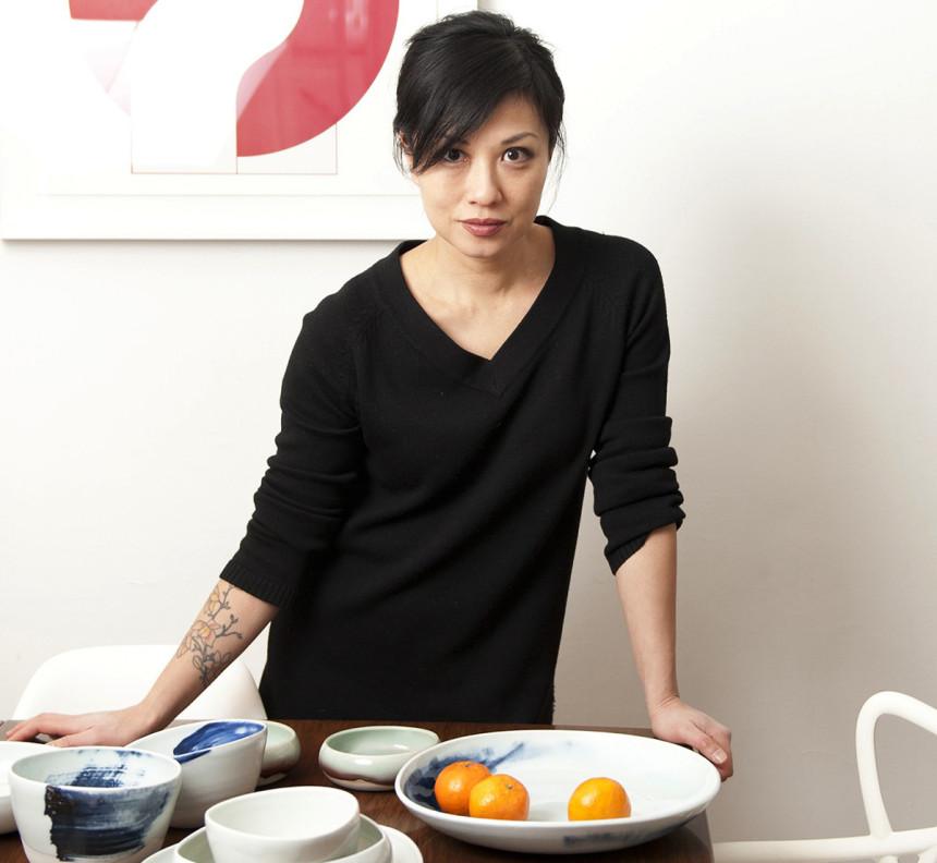 Elaine Tian, céramiste et créatrice de Studio Joo